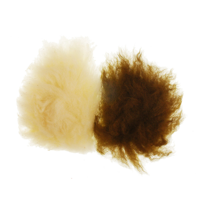 Two Patches of Sculpin Wool