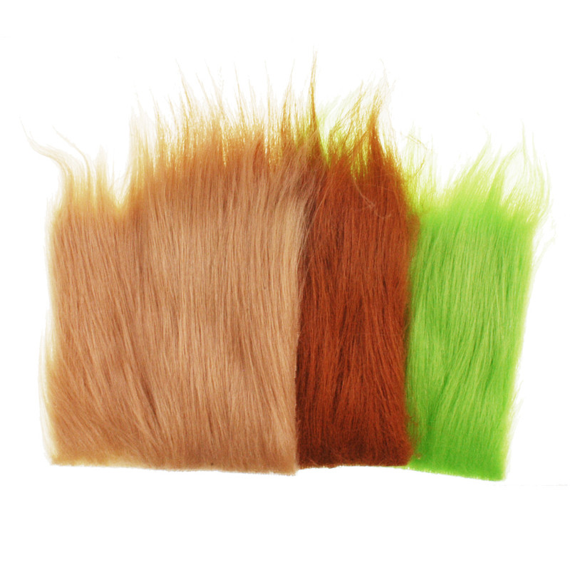 Three Patches of Hareline Extra Select Craft Fur