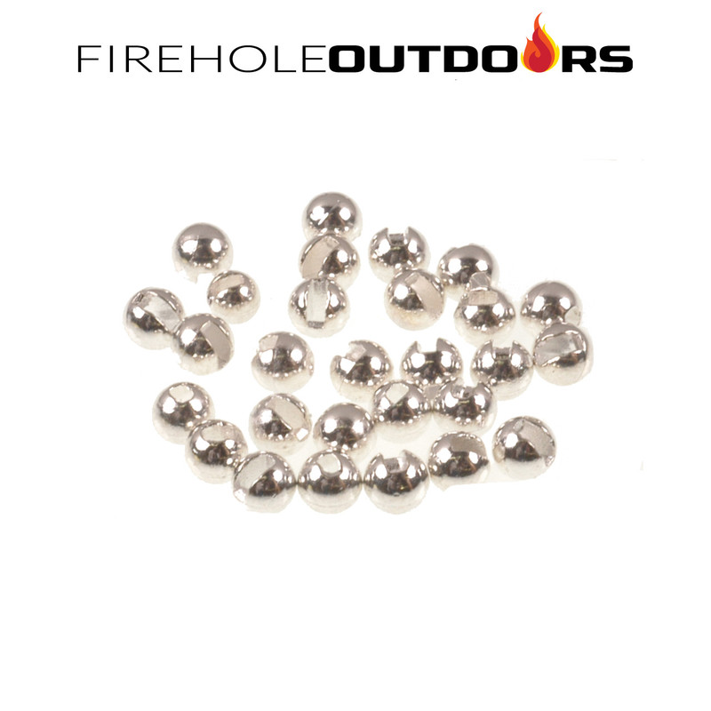 Close Up View of Firehole Stones Slotted Tungsten Sterling Silver Beads