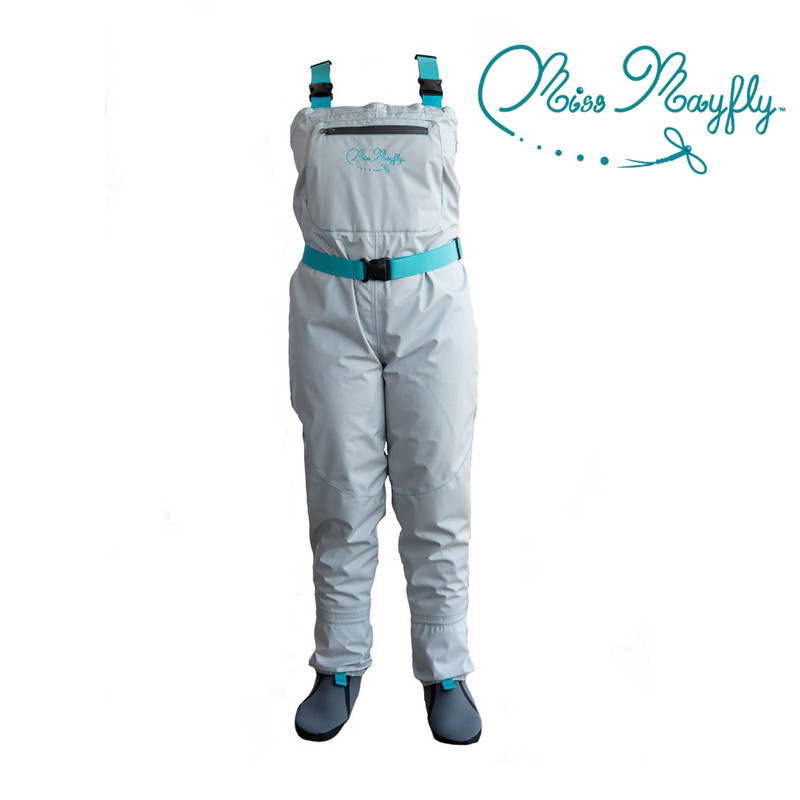 Miss Mayfly breathable stockingfoot wader