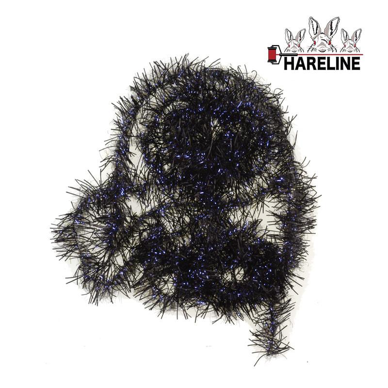 Hareline UV Life Flex Wrap in the Color Black