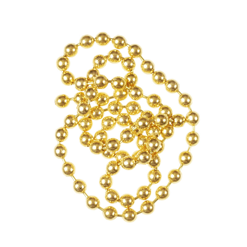 A Pile of Wapsi Gold Bead Chain Eyes