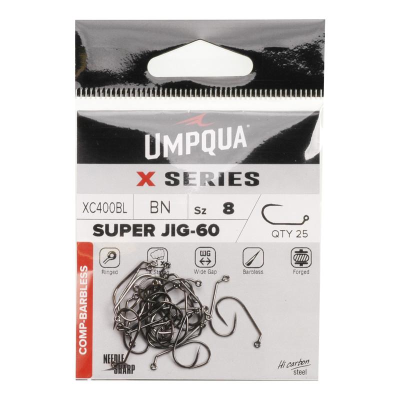 25-Pack of Umpqua XC400 Jig Hooks