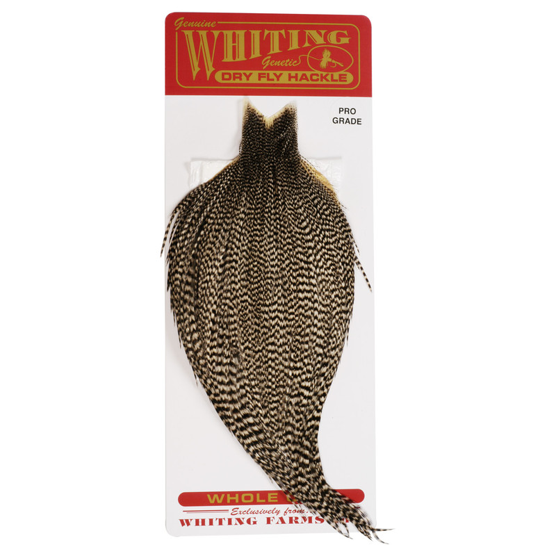 Whiting Farms Pro Grade Dry Fly Cape Grizzly