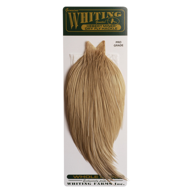 Whiting Farms Hebert Miner Pro Grade Pale Watery Dun Cape