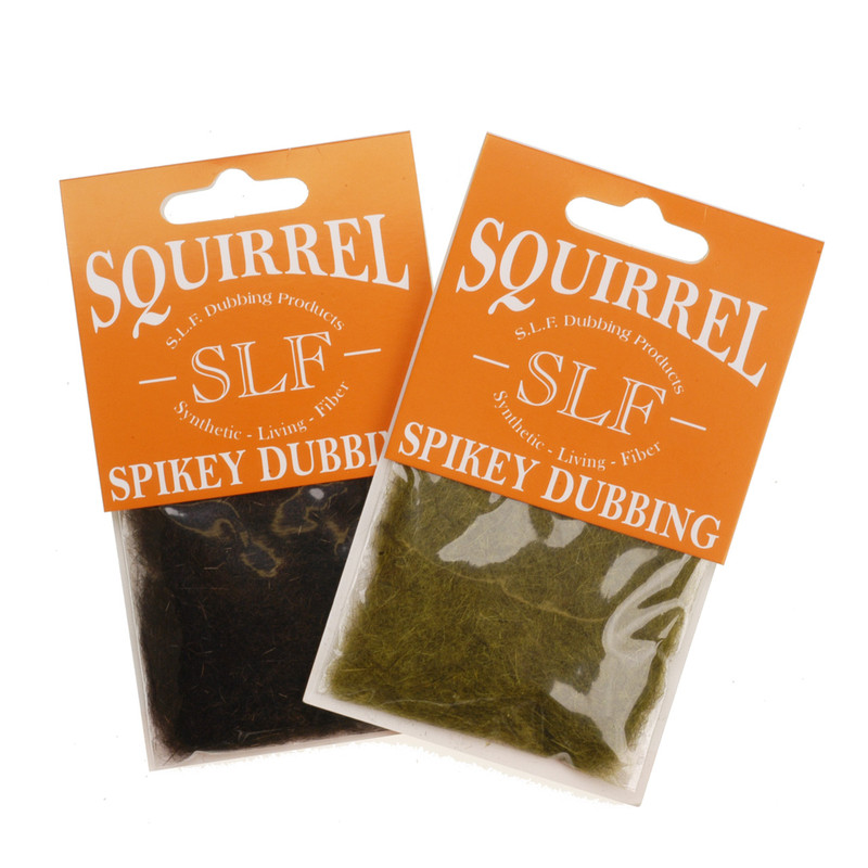 Two Packages of Wapsi SLF Squirrel Dubbing