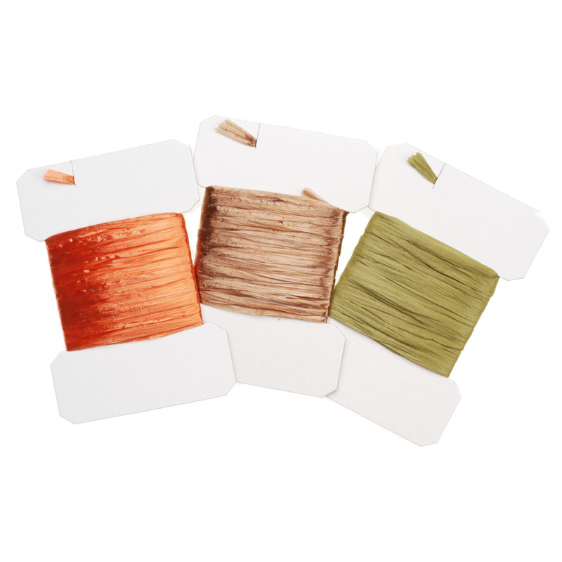Packs of Wapsi Swiss Straw in Three Colors