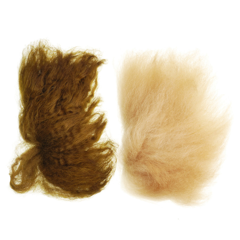 Sculpin Wool Shown in Olive and Tan