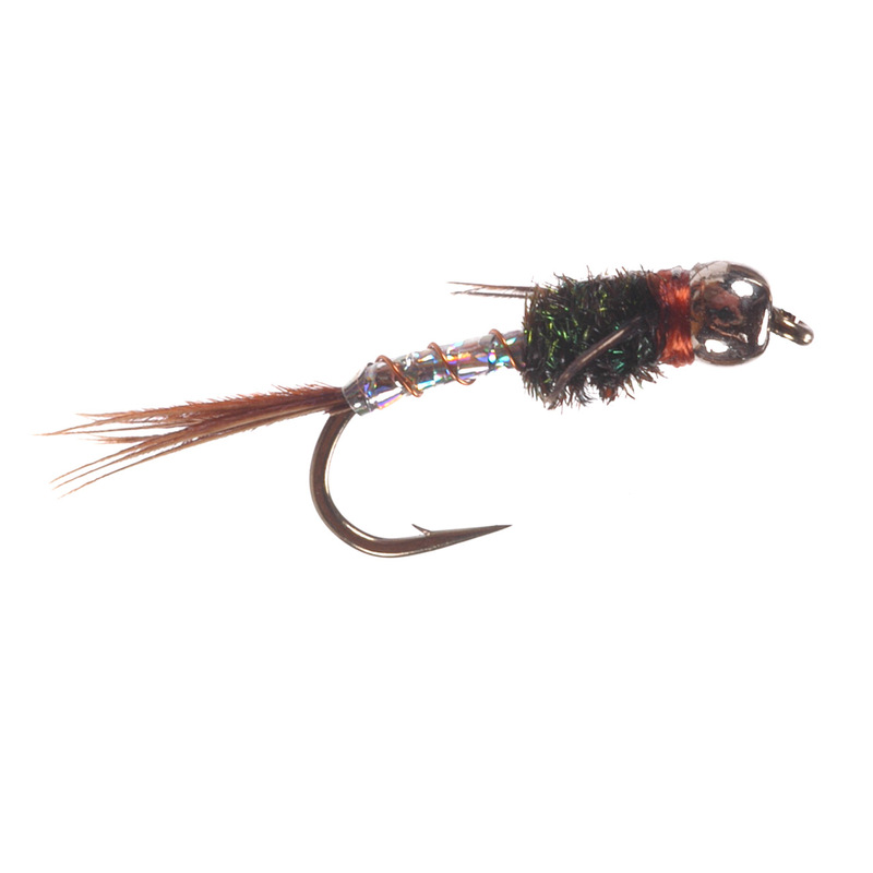 Bead Head Lightning Bug Silver