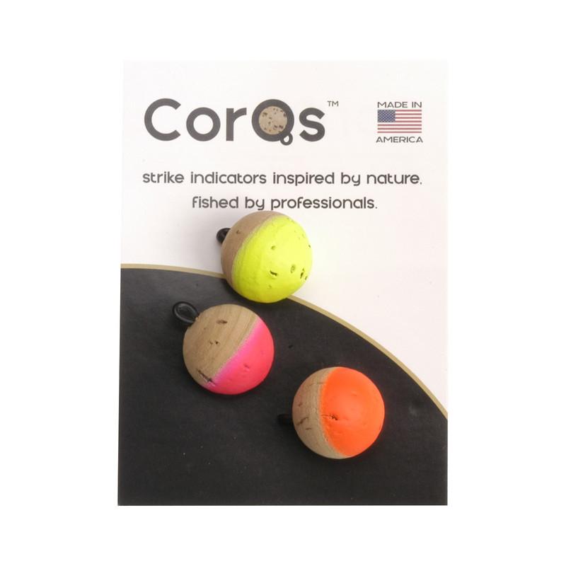 """A Pack of Corqs 5/8"""" Strike Indicators"""
