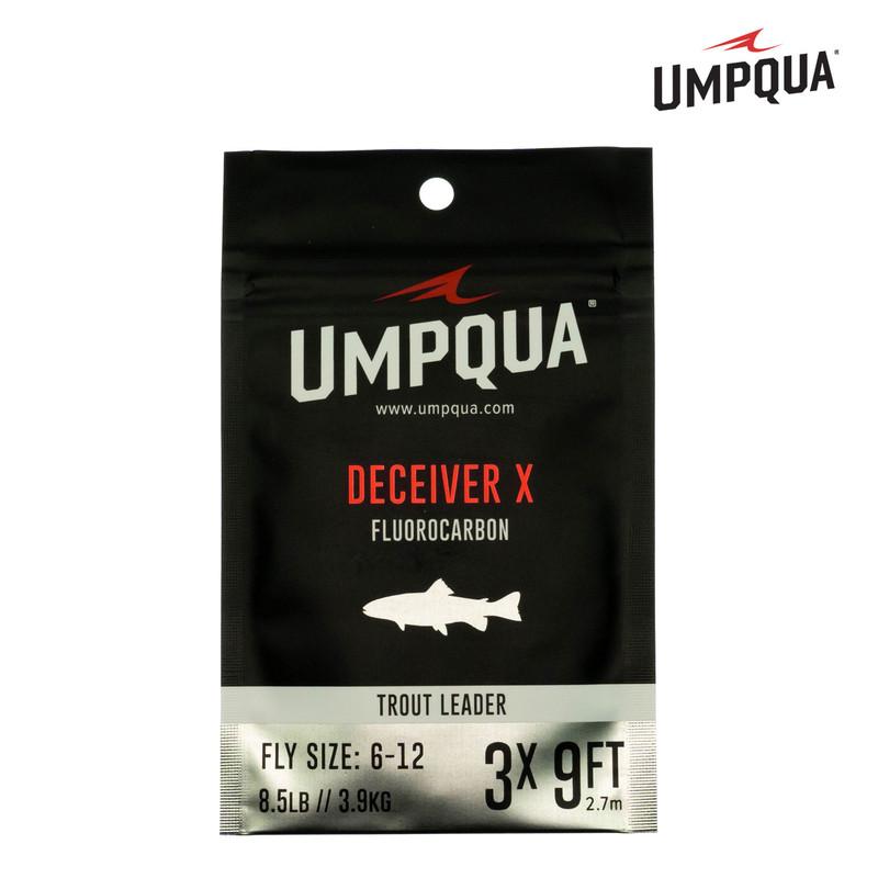A Packaged Umpqua Deceiver X Fluorocarbon Trout Leader