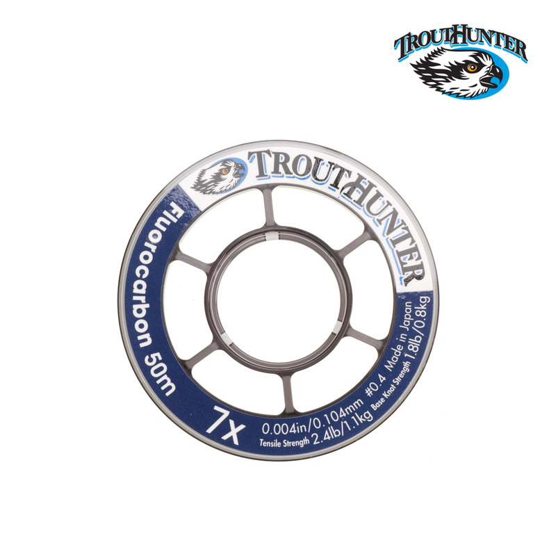 A 50 Meter Spool of TroutHunter Fluorocarbon Tippet Material
