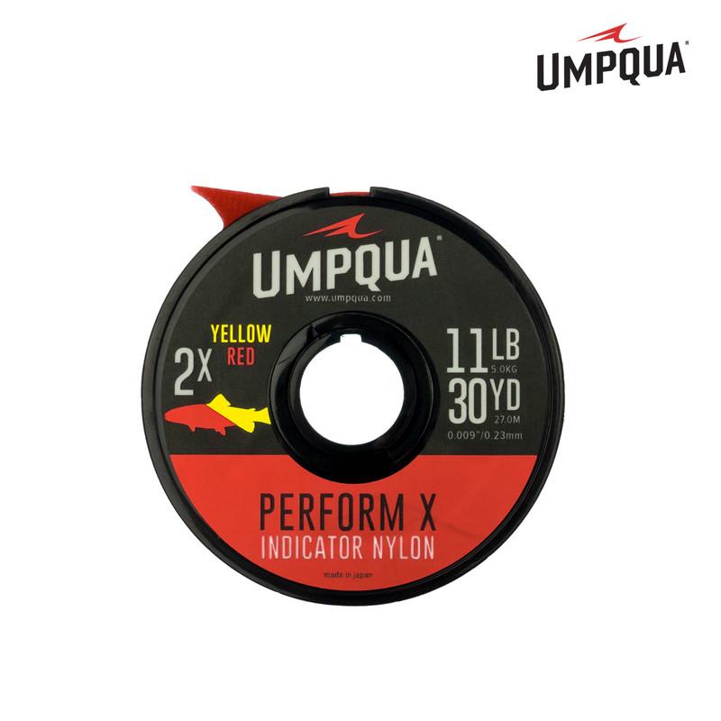 A 30 Yard Spool of Umpqua Perform X Indicator Nylon