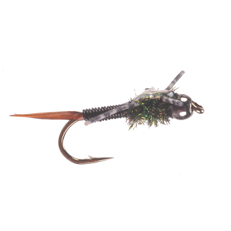 Bead Head Copper Nymph Black