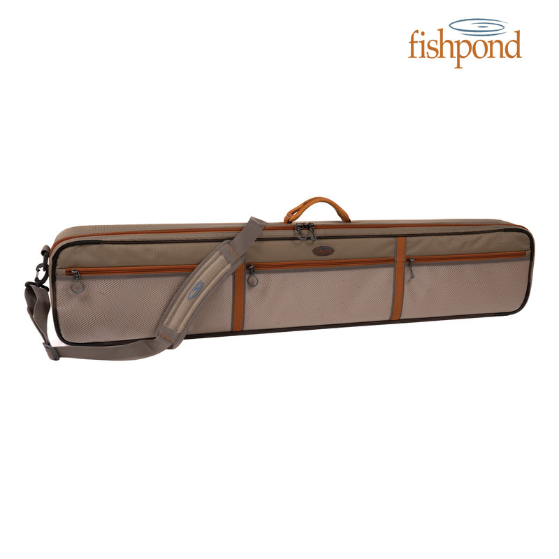 "Fishpond Dakota 45"" Rod & Reel Case front view."
