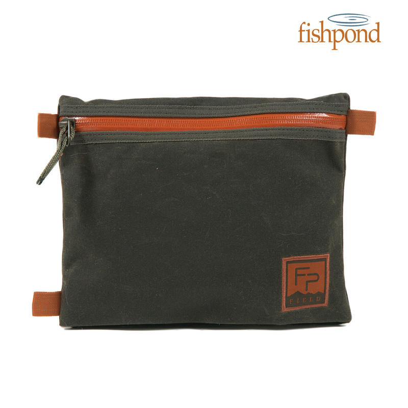 Fishpond Eagle's Nest Travel Pouch front view.