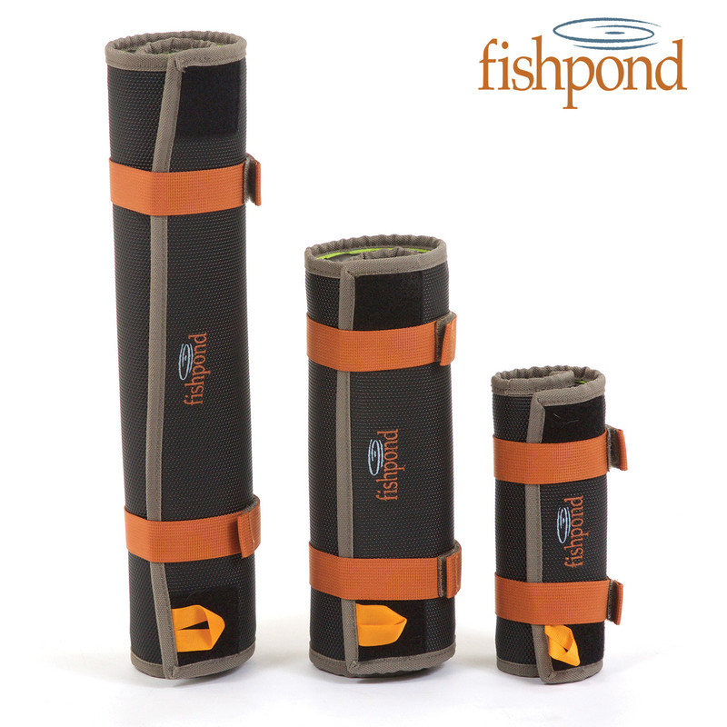 Fishpond Sushi Roll Streamer and Fly Storage Shown Rolled three sizes