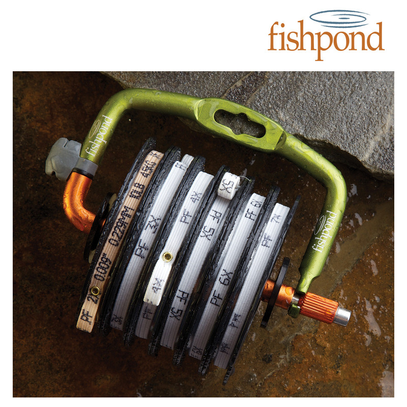 Fishpond Headgate Tippet Holder Loaded