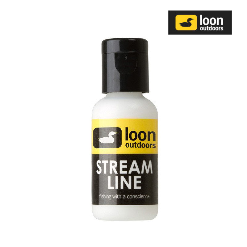 Bottle of Loon Stream Line Fly Line Cleaner and Floatant