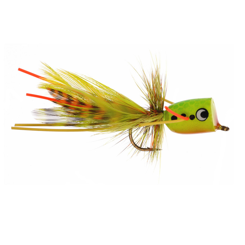 Walt's Firetiger Popper in the Size #8