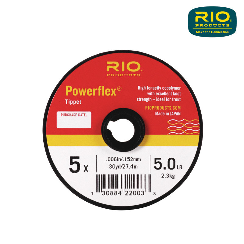 A 30-Yard Spool of Rio Powerflex Tippet