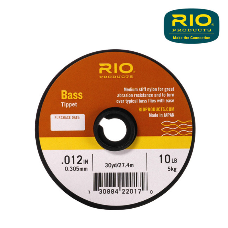 Spool of Rio Bass Tippet