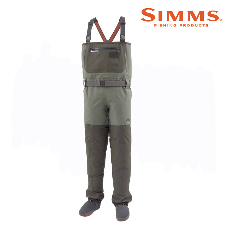 Simms Men's Freestone Wader Front View