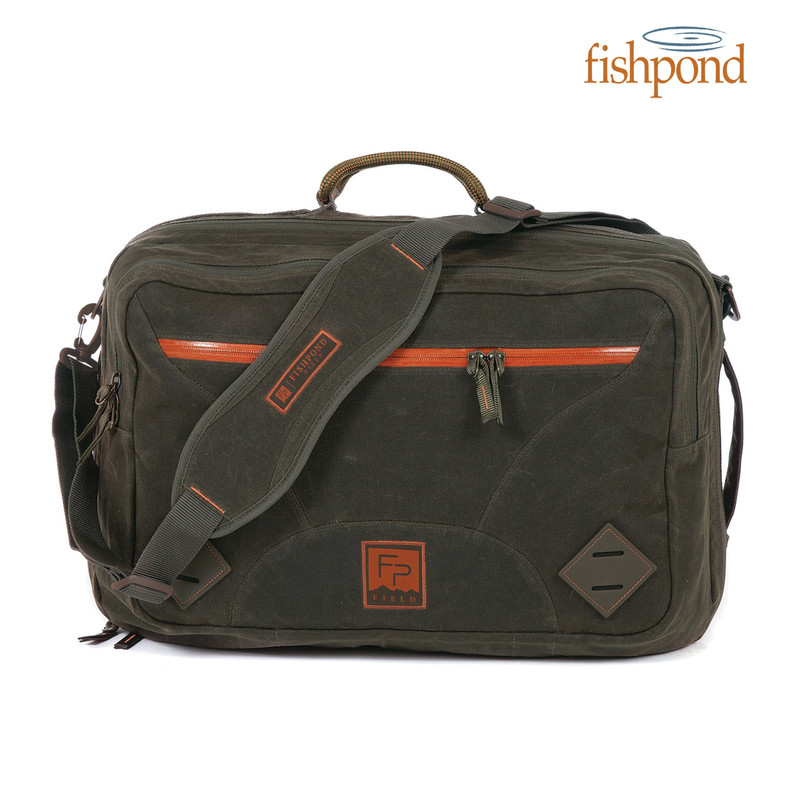 Fishpond Half Moon Weekender Bag front view.