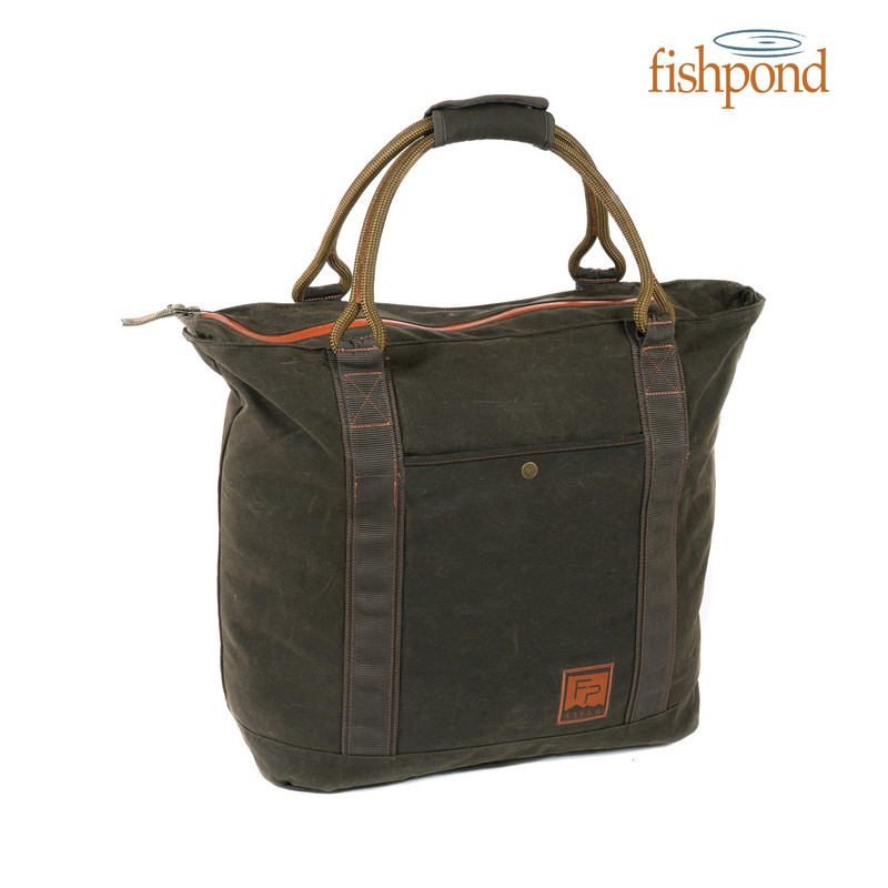 Fishpond Horse Thief Tote front view.