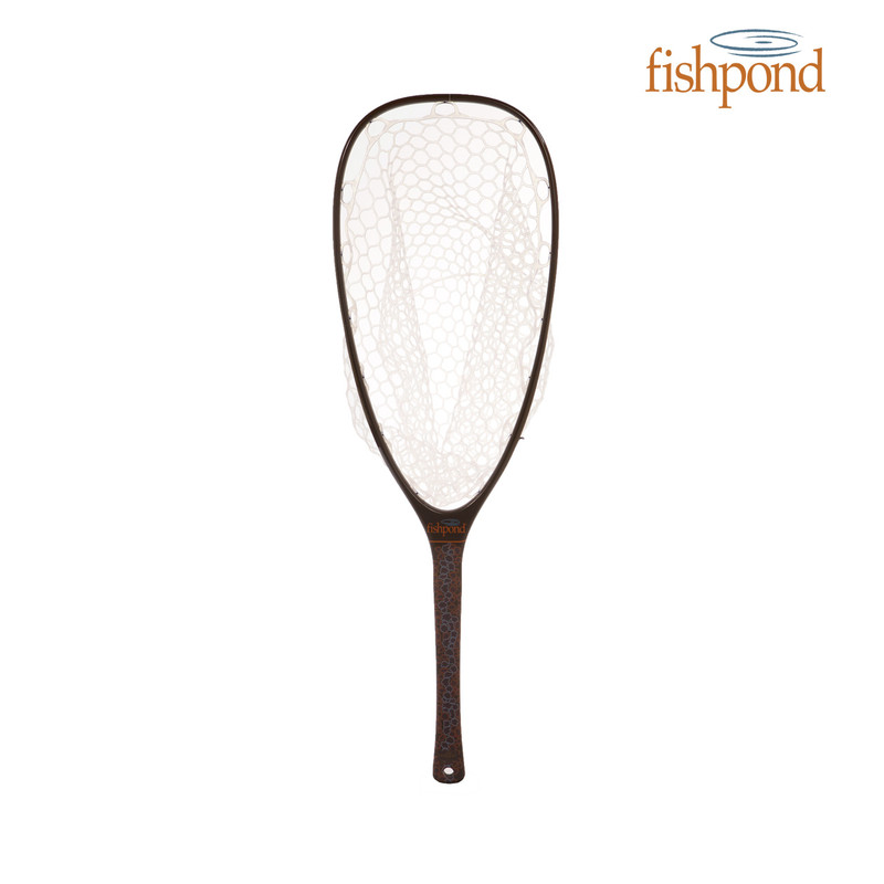 Fishpond Nomad Emerger Net in the color Brown Trout