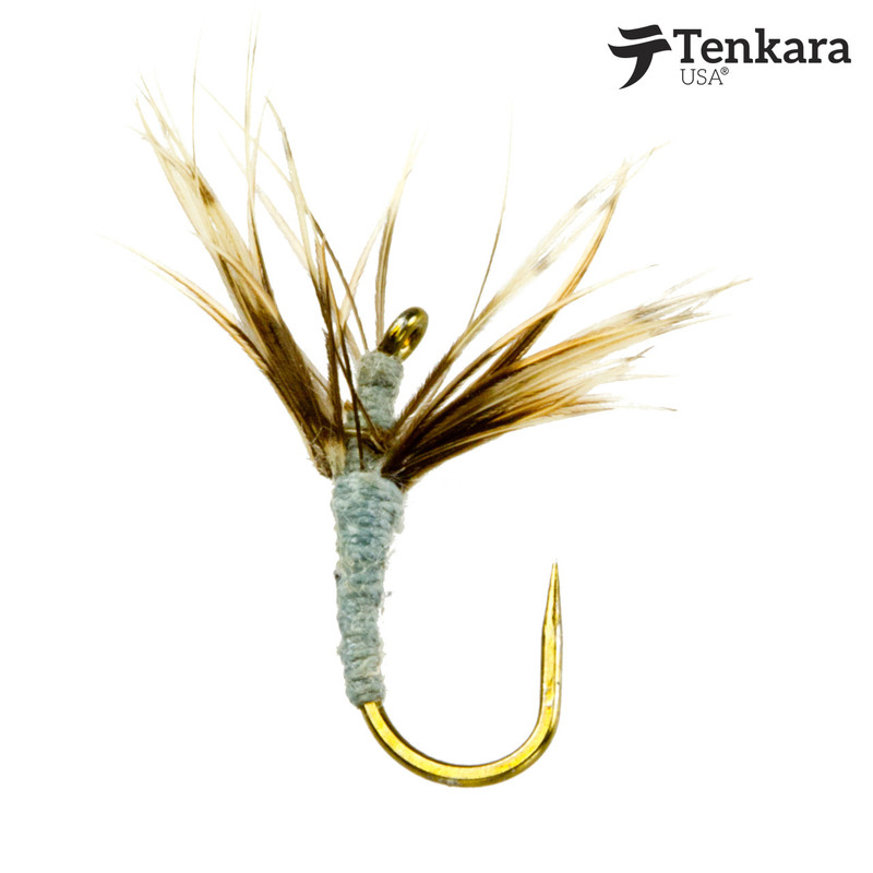 Tenkara USA Flies Amano Kebari #12 Pack of 3