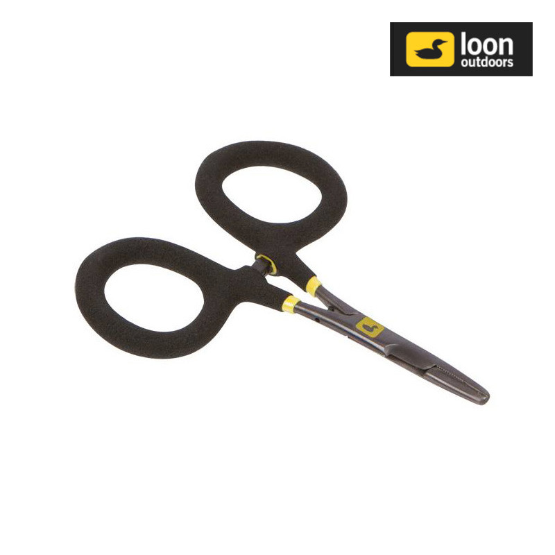 Loon Rogue Micro Forceps Shown Closed