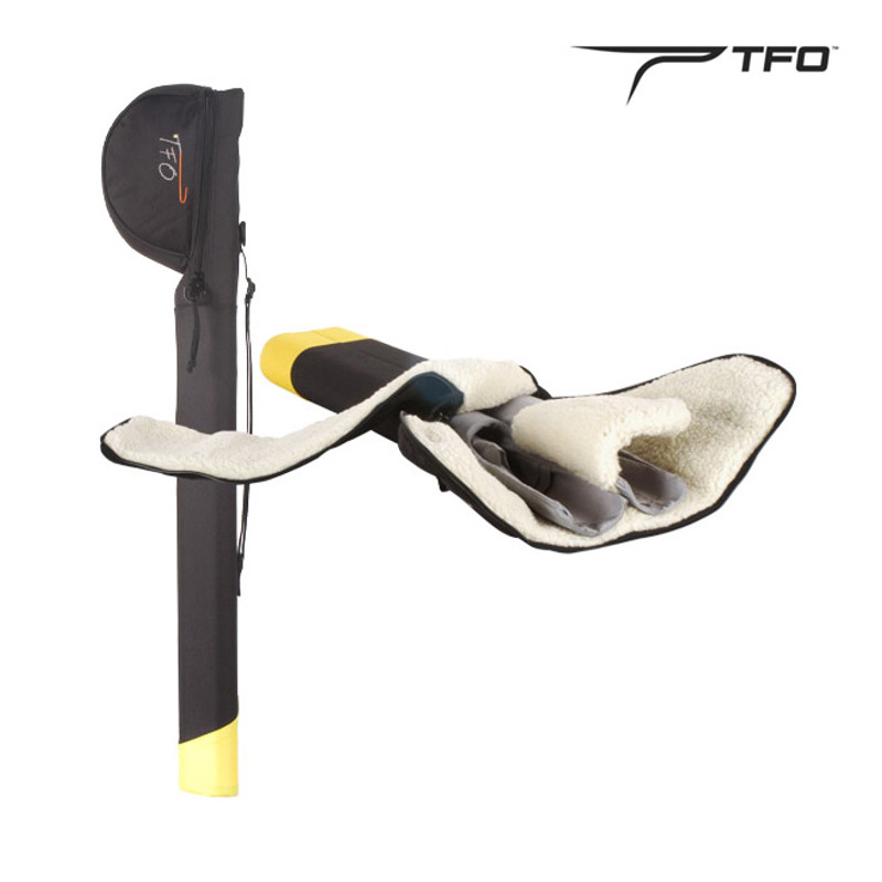 Temple Fork TFO Dual Rod & Reel Carrier for 9' Rods or Shorter.