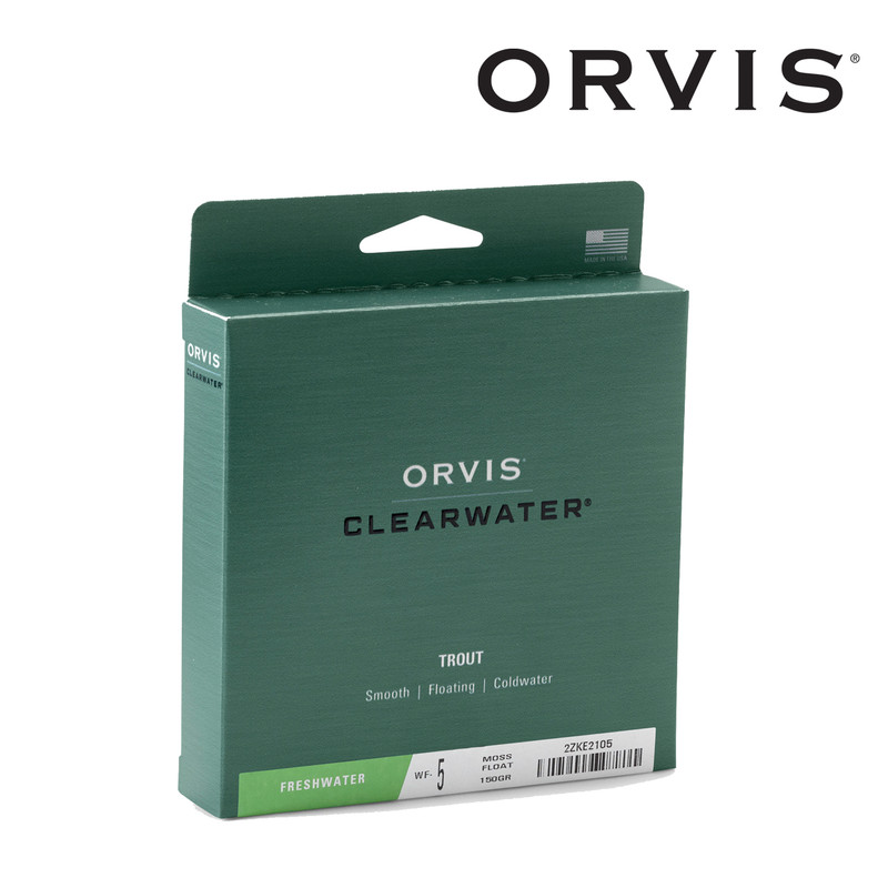 Box Containing an Orvis Clearwater Weight Forward Fly Line