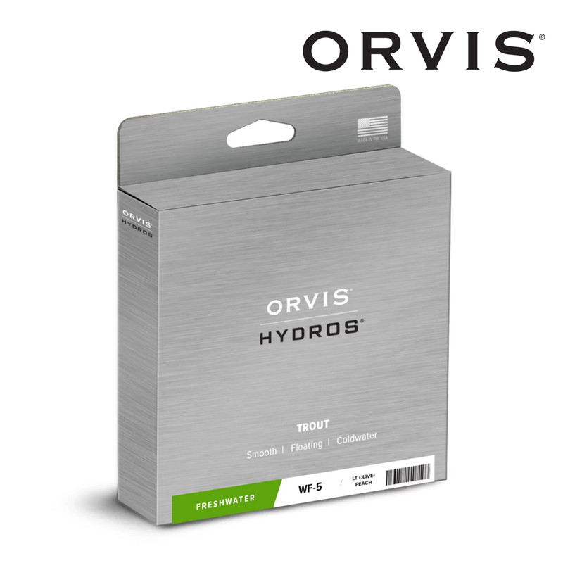Orvis Hydros Trout Fly Line Shown In The Box