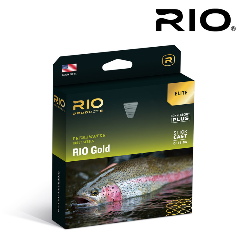 Rio Elite Gold Fly Line In The Box