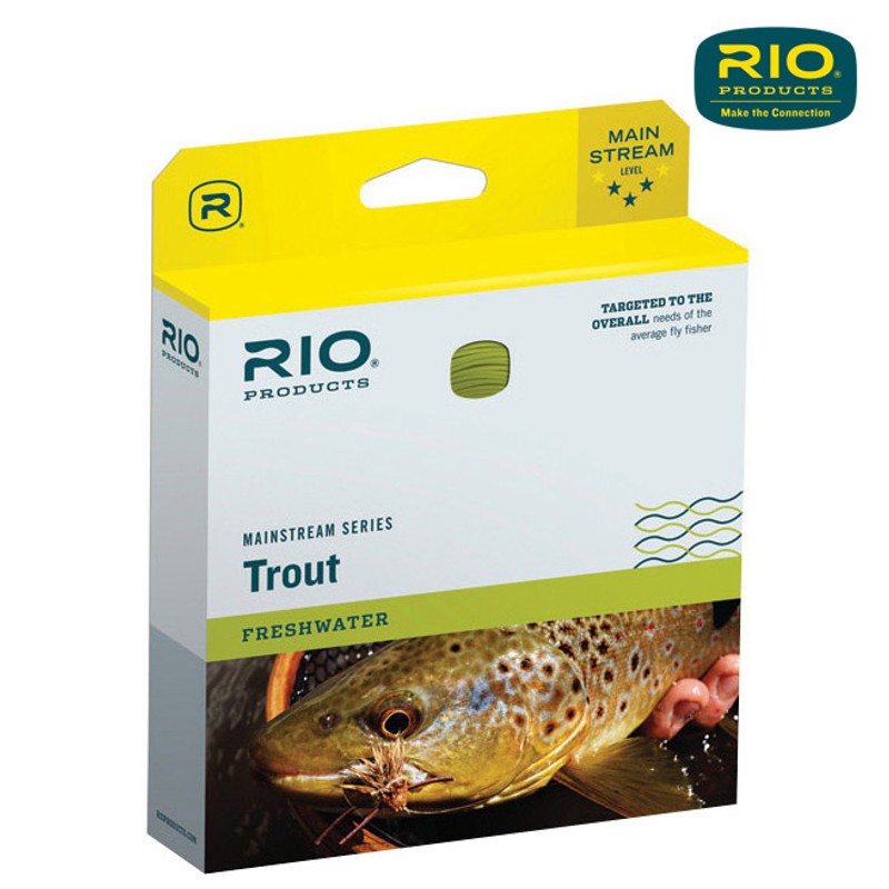 Rio Mainstream Double Taper Trout Fly Line In the Box