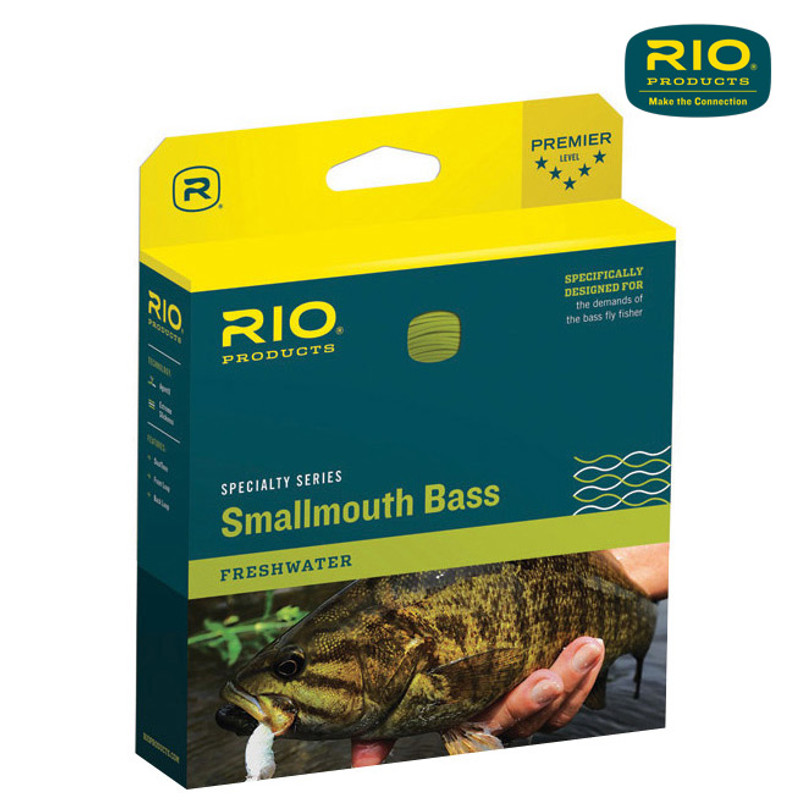 Rio Smallmouth Bass Fly LIne In The Box