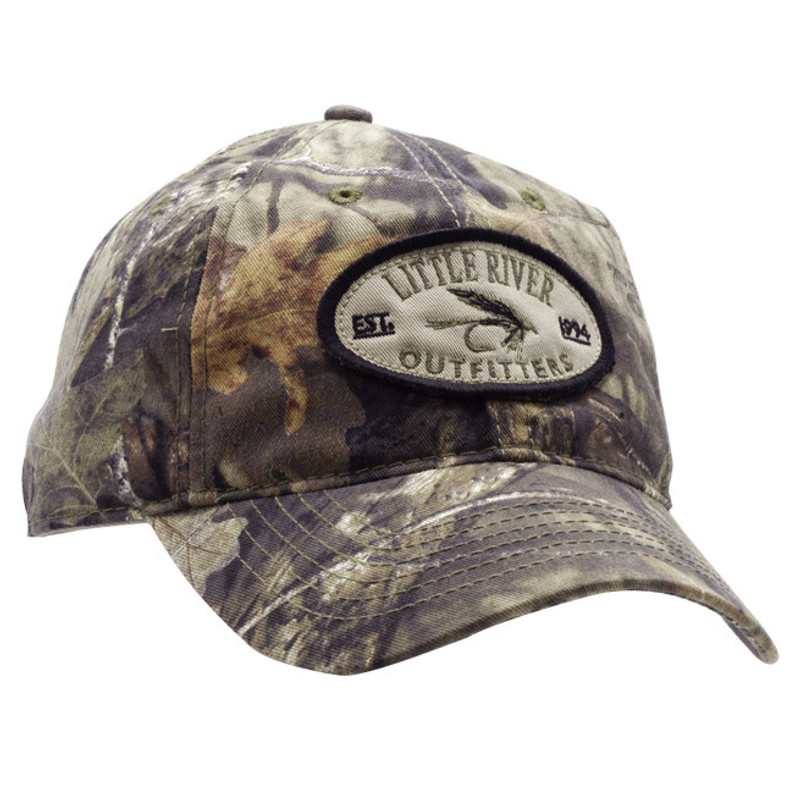 LRO Camo Cap Front and Side View