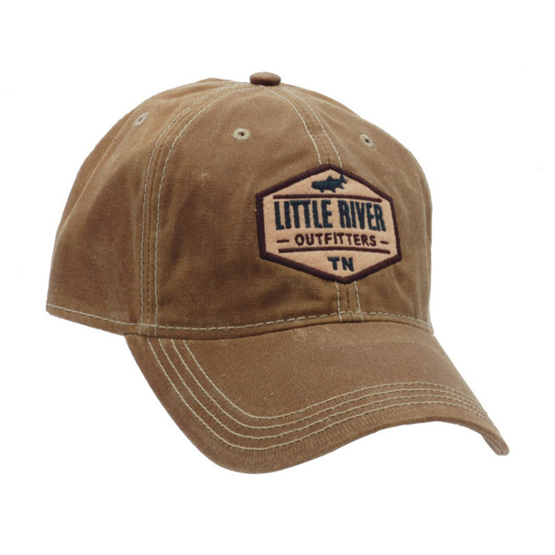 LRO Legacy Waxed Cotton Brown Cap Front and Side View