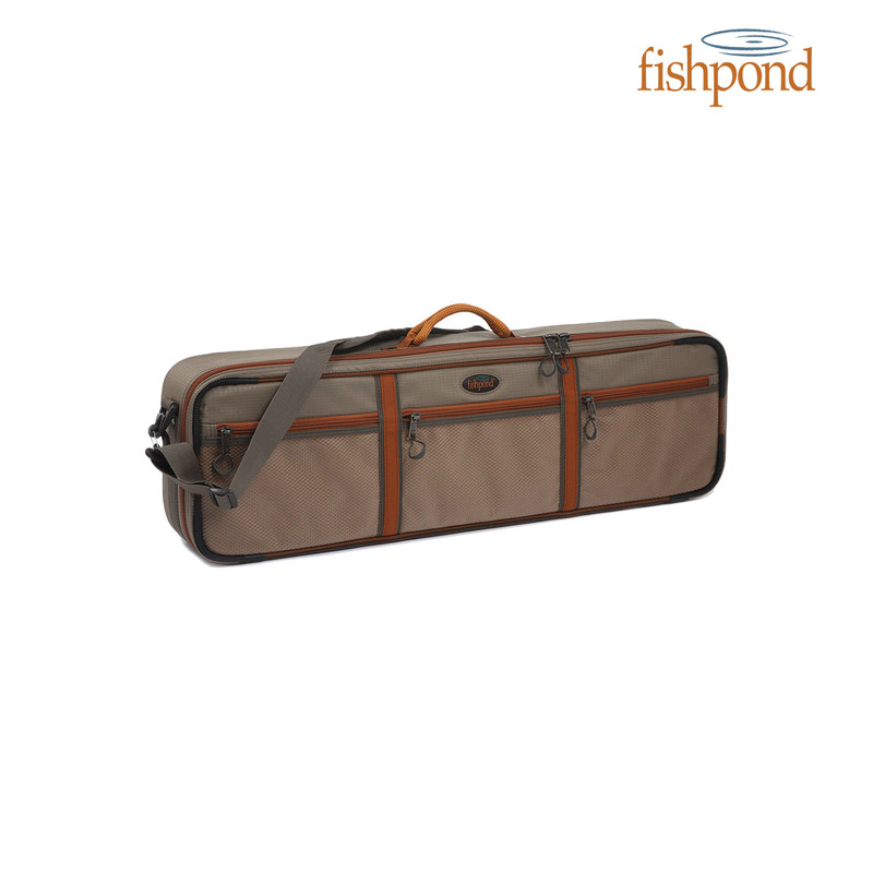 "Fishpond Dakota 31"" Rod & Reel Case front view."