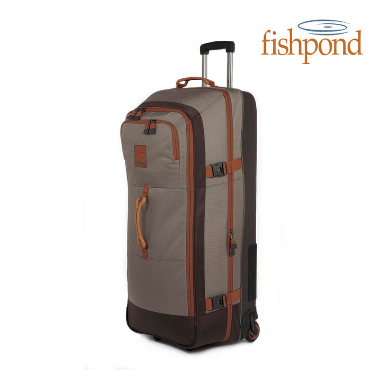 Grand Teton Rolling Luggage Front and Side View