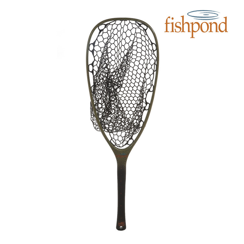 Full View of a Fishpond Nomad River Armor Emerger Landing Net