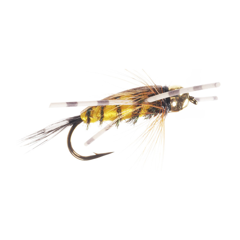 Bead Head Rubber Legs Tellico Nymph Side View