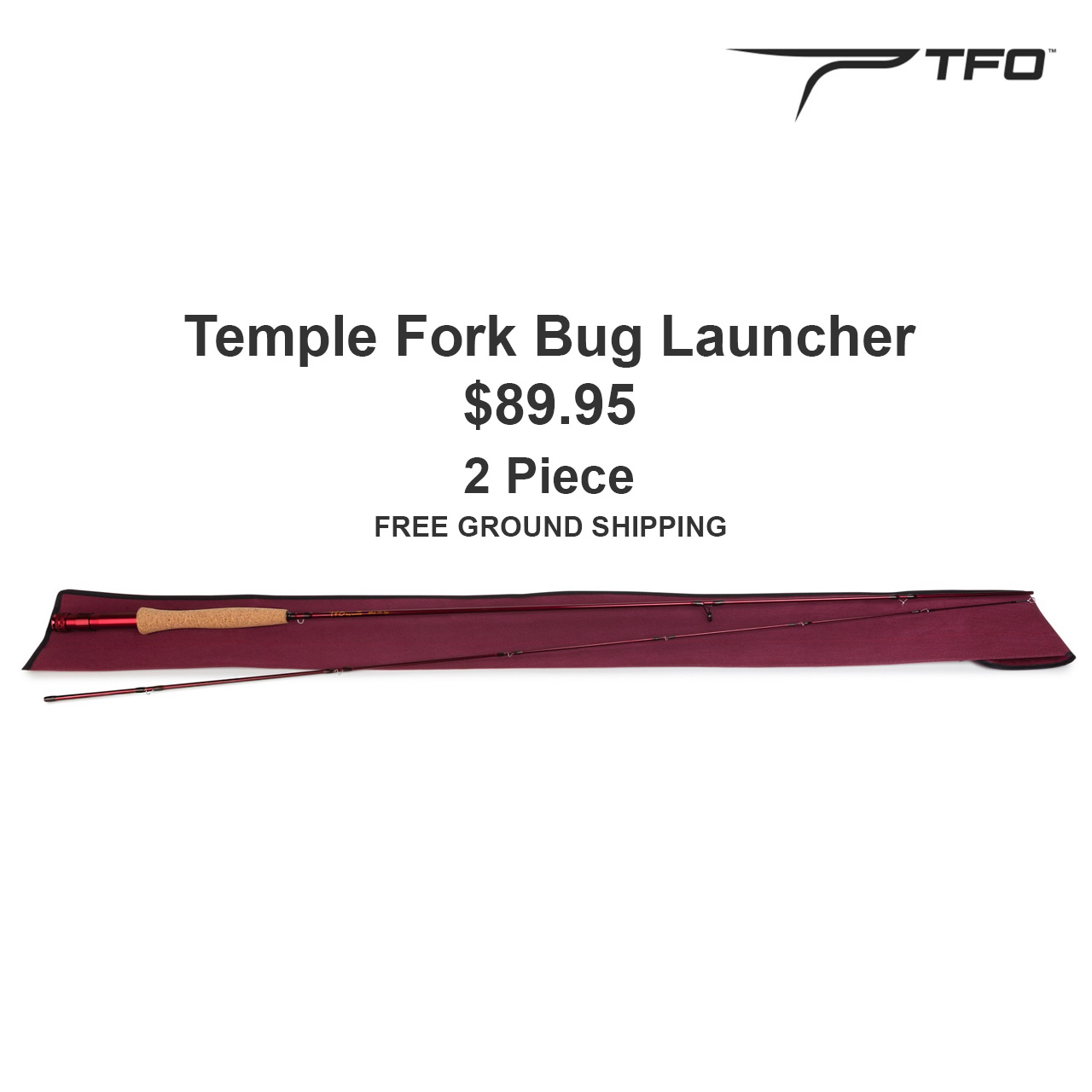 TFO Bug Launchers Fly Rods