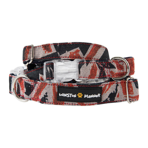 Winston Manner Hipster Dog Collar