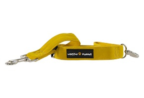 Golden Yellow velvet feel dog leash