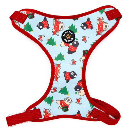 Mochi's Christmas Harness
