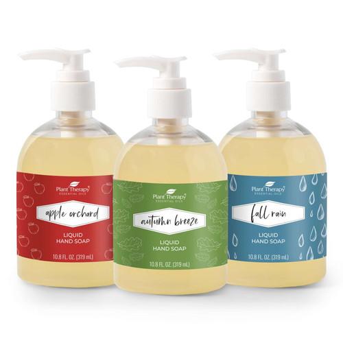 Fall Liquid Hand Soap Assortment 3-Pack