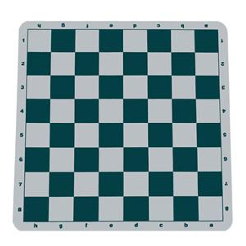 Green Silicone Roll-Up Chess Board